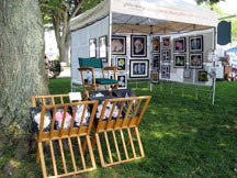 Art in the Park in Northport